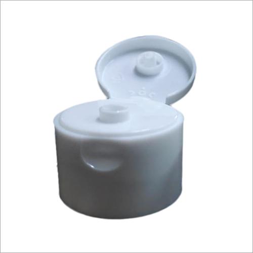 Plastic White Flip Top Cap