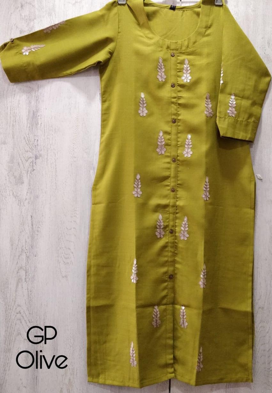 Ladies cotton kurti