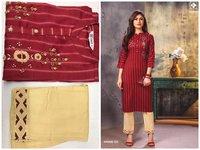 Ladies kurti with pant