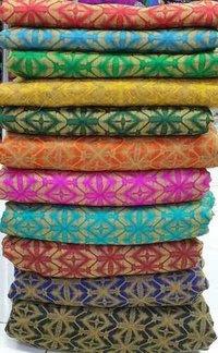Cotton Ekat Jacquard Fabric