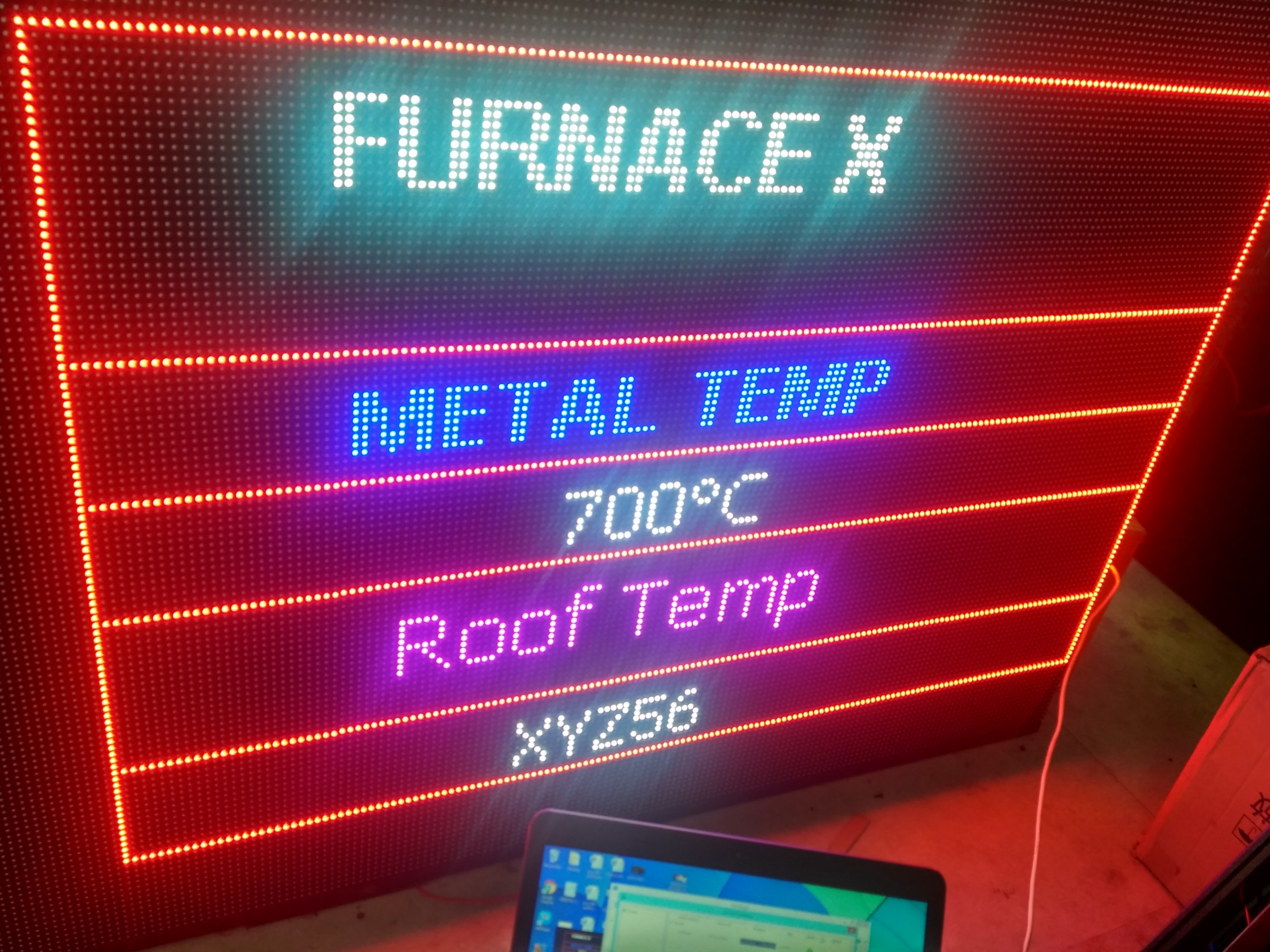 industrial led display