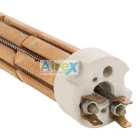 Airex Ceramic Porcelain Heating Element for Industrial Ovens Dai 22 mm (1000W/ 1500W/ 2000W)