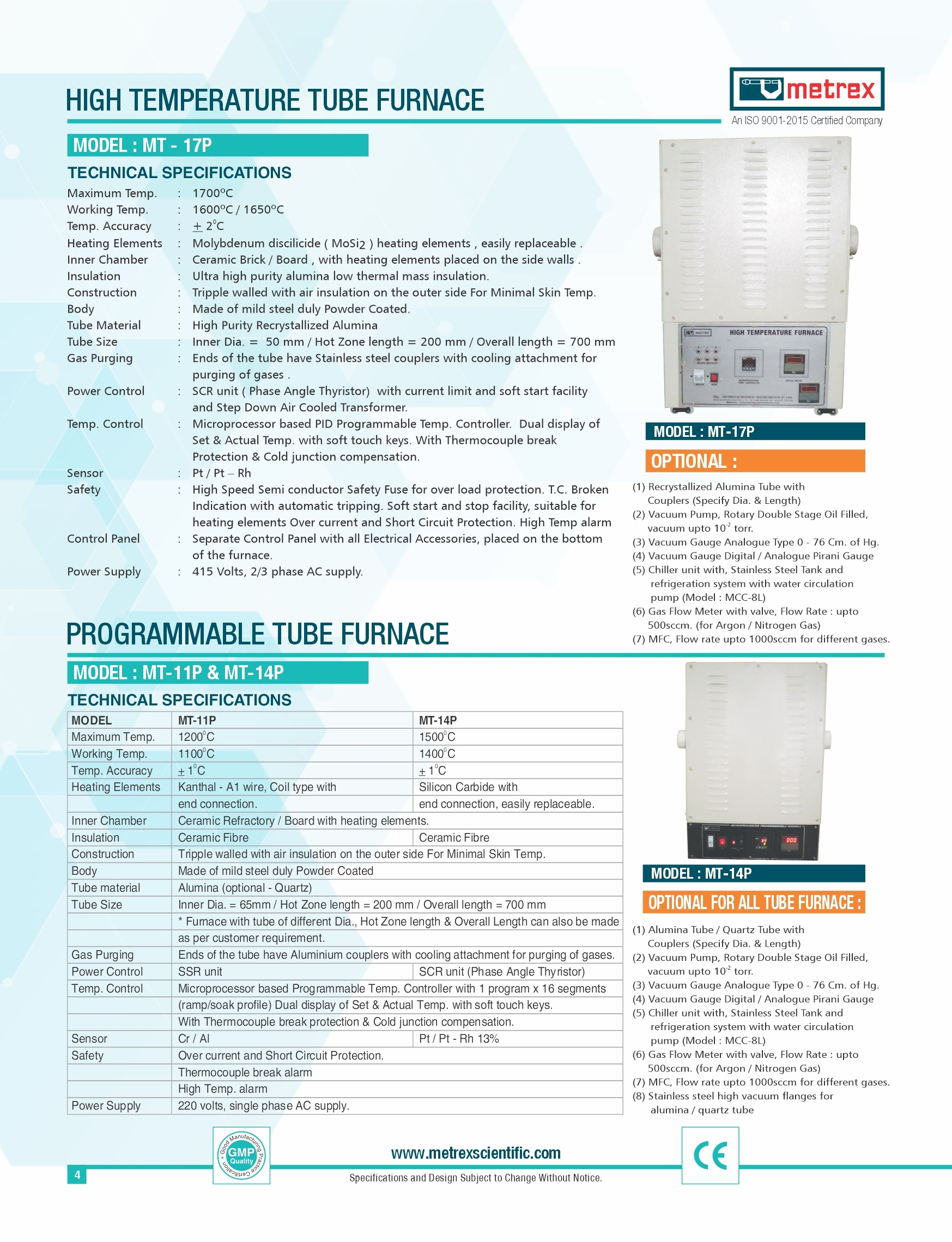 Programmable Tube Furnace