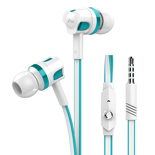pTron HBE5 Raptor (High Bass Earphones) Stereo Wired Headset with Bass