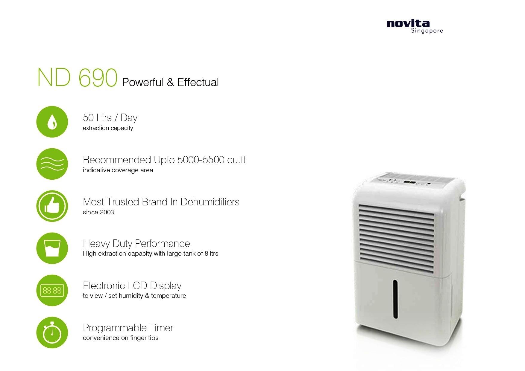 Electronic Portable Dehumidifier