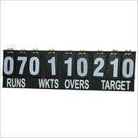 Cricket Portable Scoreboard