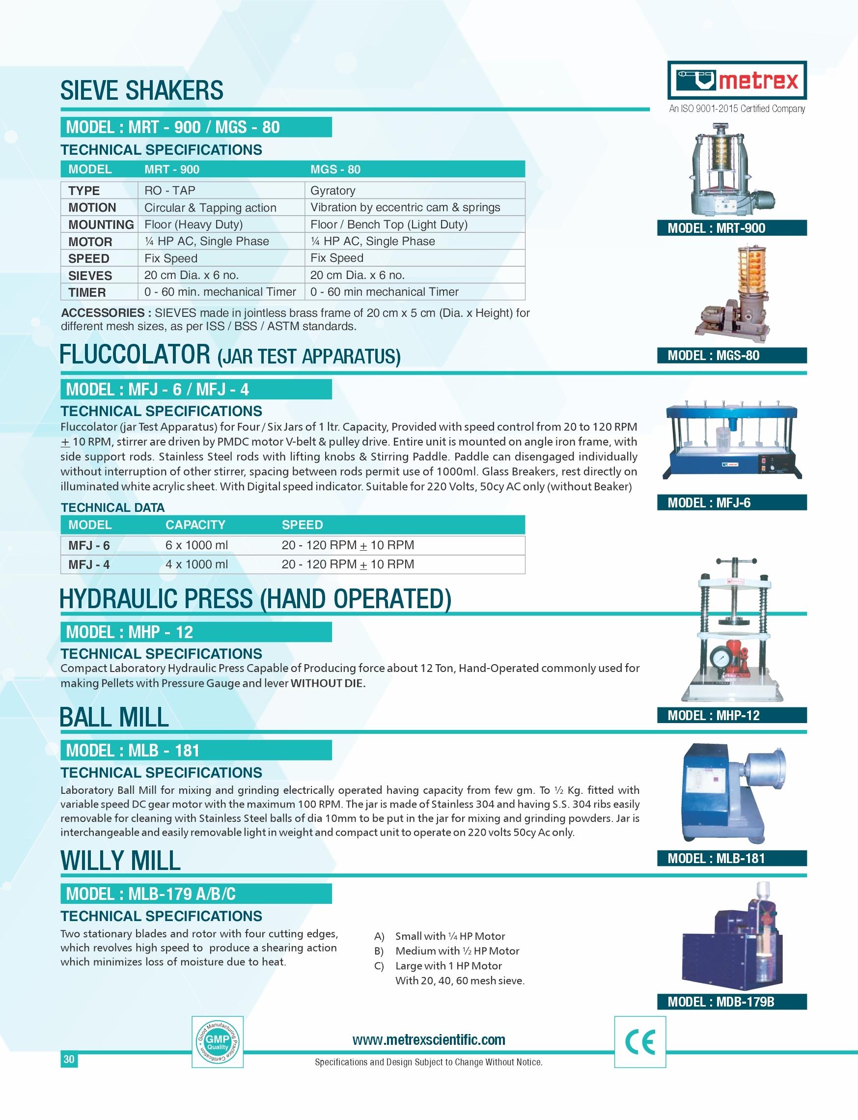 Hydraulic Press ( Hand Operated )