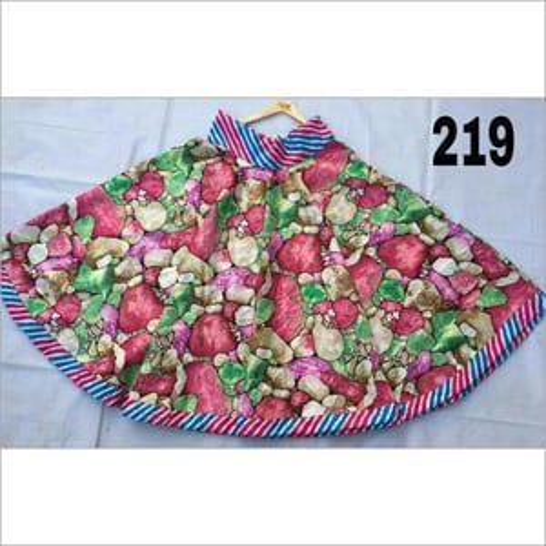 Flower Print Casual Wear Long Skirts