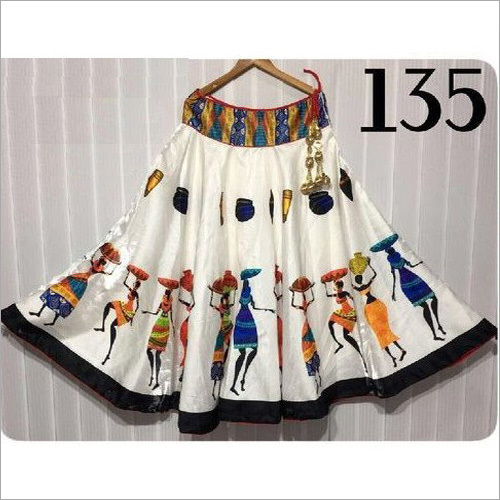 Fancy Full Flair Long Skirts