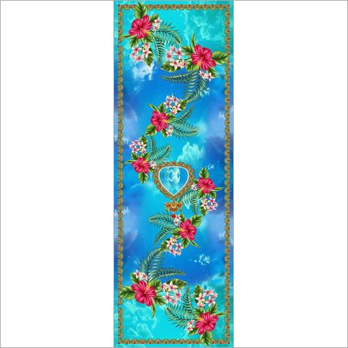 Flower Design Print Fabric