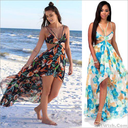 Women Chiffon Beachwear Garment Fabric