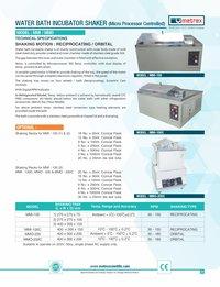 Water Bath Incubator Shaker ( Refregerated )