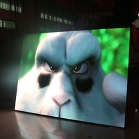led video wall wedding