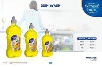 Lemon Fragrance Liquid Dish Wash