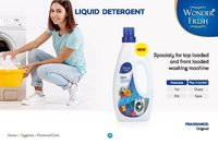 Wonder Fresh Liquid Detergent