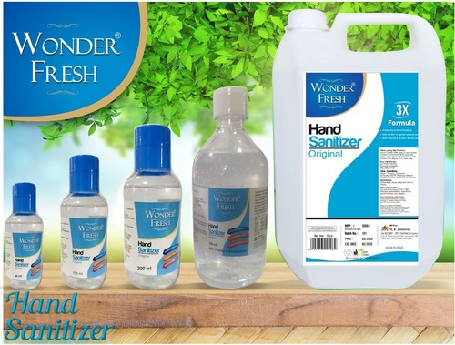 Wonder Fresh Hand Sanitizer