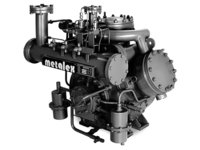 Ammonia Water Cooled Compressors