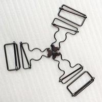 ID38mm Adjustable Brass Alloy Bag Belt Slide Suspender Buckle Gourd Buckle HD270-19