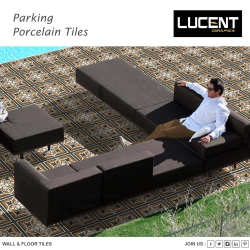 PARKING VITRIFIED TILES