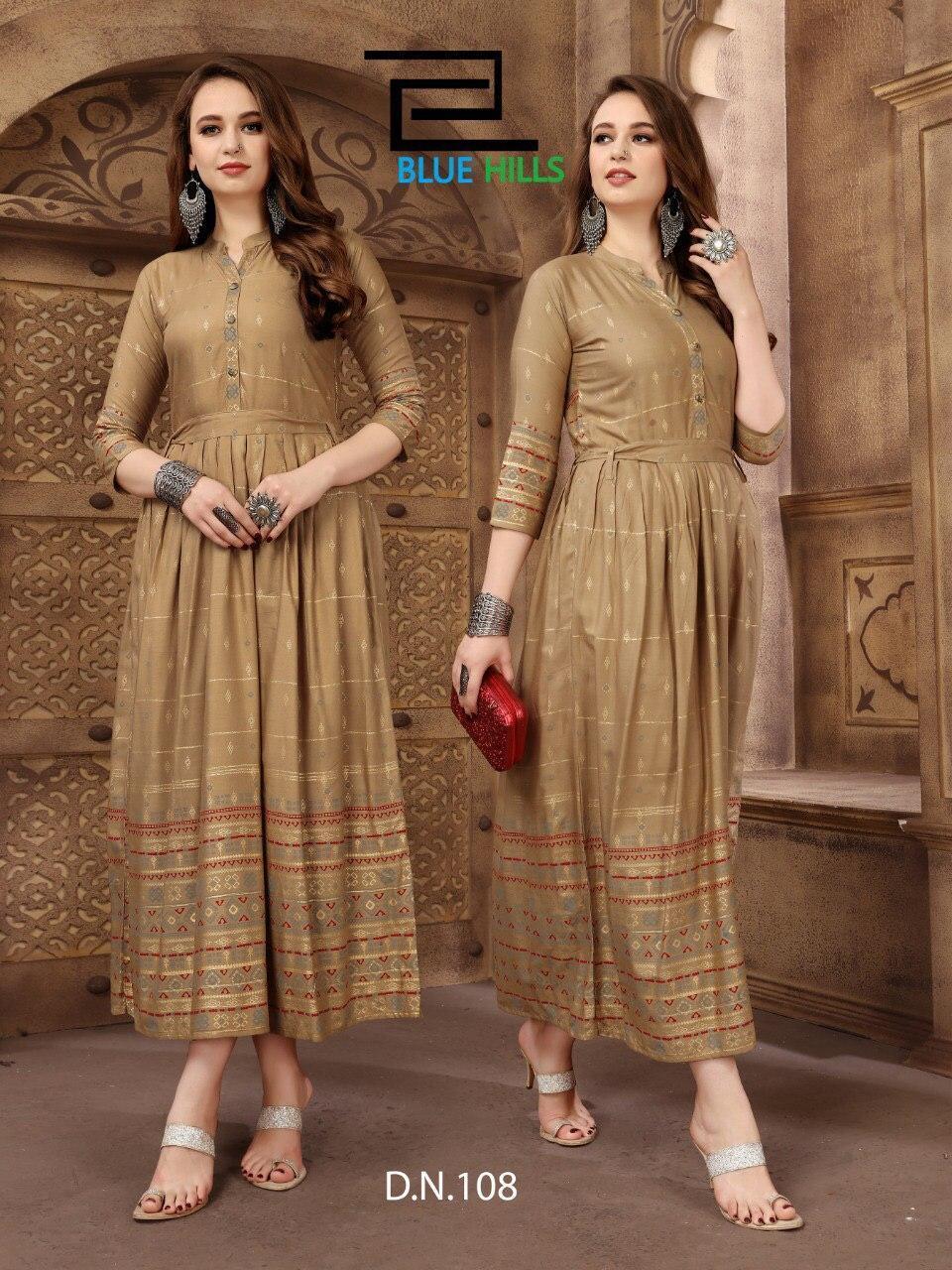 Long gown type kurti