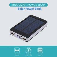 Portable fast Charging Solar 13000Mah Power Bank