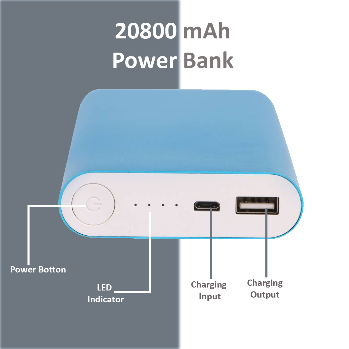 20800mAh Power Bank