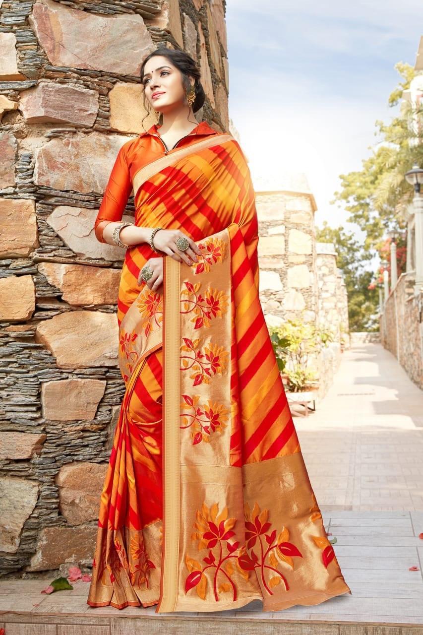 Soft Silk Weaving Saree