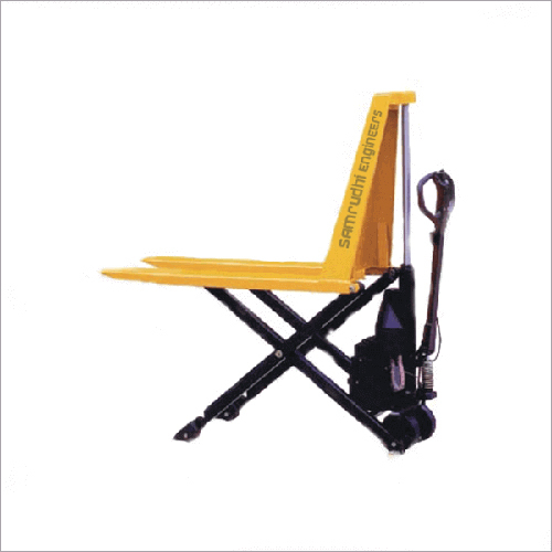 Semi Electric High Lift Pallet Truck