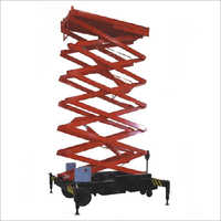 Traction Type Scissor Lifts