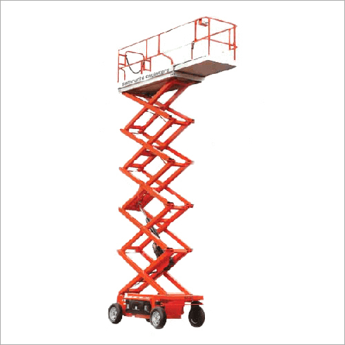 Battery Operated Scissor Lifts