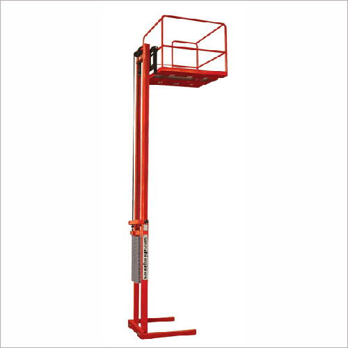 Aerial Work Platform Stacker With Basket