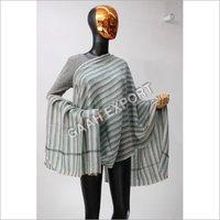 Pashmina Checks Strips Stole , SIze-70x200cm