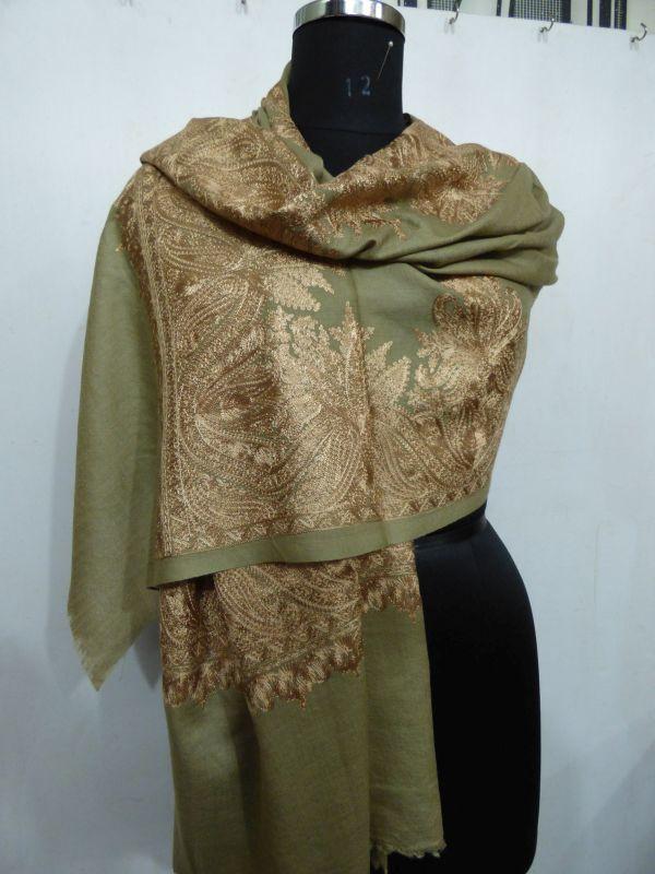 Pashmina Machine Embroided Shawls
