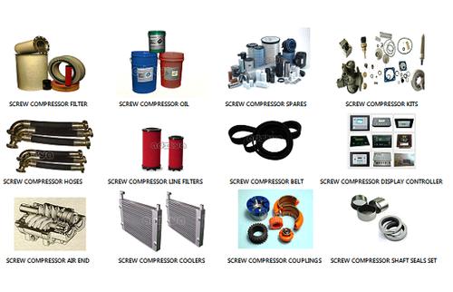 Chicago Pneumatic Compressor Spares