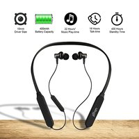 pTron Zap Magnetic In-Ear Bluetooth Headphones with 22 Hours Music Time