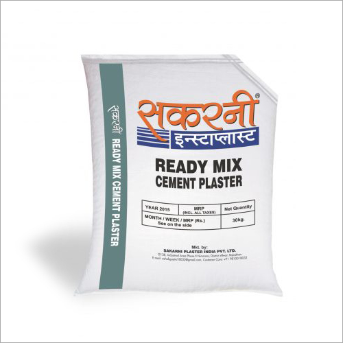Ready Mix Cement Plaster