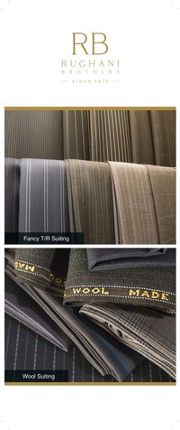 PV Polyester Viscose Blended Suiting Fabric