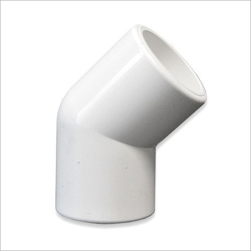 PVC Pipe 45 Degree Elbow