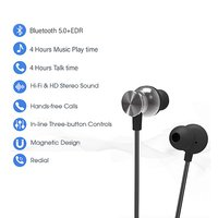 pTron InTunes Pro Magnetic Stereo Sound Bluetooth Headphones with Mic