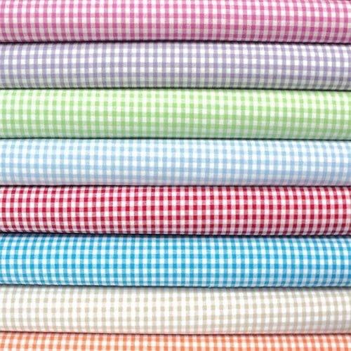 School Checks Uniform Fabric