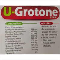 U-Grotone Syrup