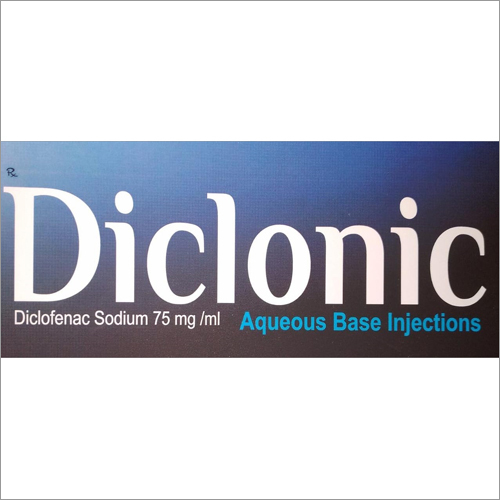 Diclofenac Sodium 75 mg-ml Aqueous Base Injections