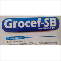 Grocef-SB Injection
