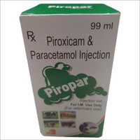 Piroxicam & Paracetamol Injection