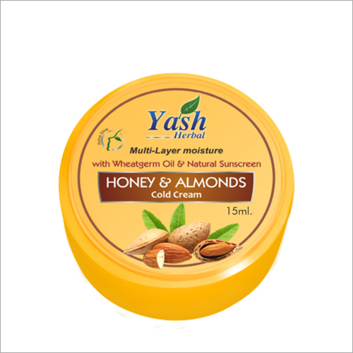 15 ml Honey And Almonds Cold Skin Cream
