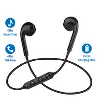pTron Avento In-Ear Stereo Bluetooth Earphones with Mic & Music Control