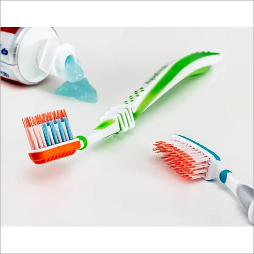 Regular Toothpaste And Brush
