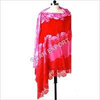 100% Pashmina Australian and Metalic Lace Shawls , SIze-90x220cm