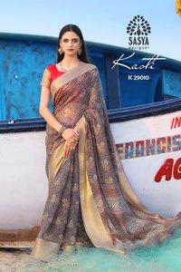 Surat Ladies Soft Cotton Saree
