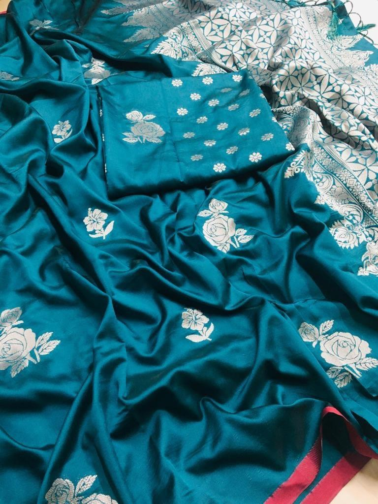SURAT LICHI SILK SAREE